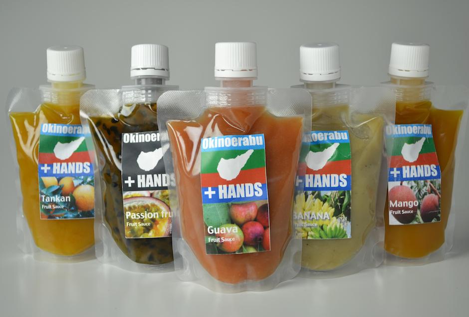 沖のえらぶ特産品開発フルーツソース